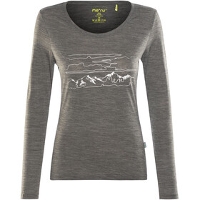 Meru Glomma LS Shirt Women Anthracite